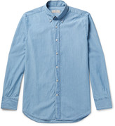Canali - Button-down Collar Denim Shirt
