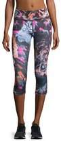 Vimmia Tempest Rose Core Capri Leggings, Multicolor