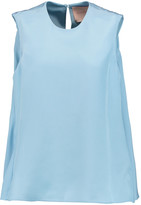 Roksanda Fuji silk-charmeuse top