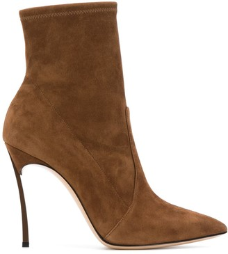Casadei Ankle-Length Pointed Boots