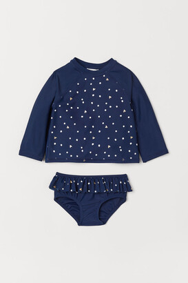 H&M Swim set with UPF 50