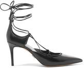 Michael Kors Gabby lace-up leather pumps