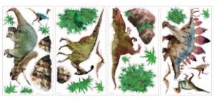 York Wall Coverings York Wallcoverings Dinosaur Peel and Stick Wall Decals