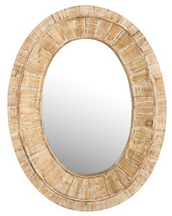 Glenn Wall Mirror, Natural