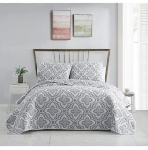 Vcny Home Mauer Matelasse 2PC Twin Xl Quilt Set