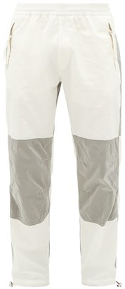 2 Moncler 1952 - Panelled Cotton Track Pants - White Silver