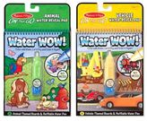 Melissa & Doug Vehicles and Animals Water Wow Bundle