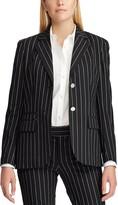 Chaps Women's Angela Black Pearls Blazer Jacket