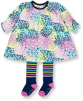 Le Top Confetti Print Dress & Tights 2-Piece Set (Baby Girls 12-24M)