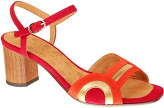 Chie Mihara Losma Colorblock Leather Sandals