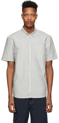 Carhartt Work In Progress Black and White Stripe Simon Shirt
