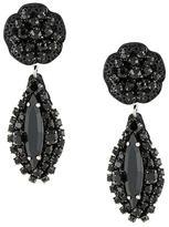 Rada' Radà stone embellished pendant earrings