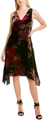 Josie Natori Winter Peony Dress
