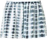Thakoon eyelet tie-dye shorts