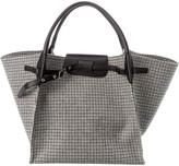 Celine Medium Big Bag Tweed & Leather Tote