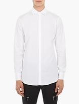 Neil Barrett White Slim-Fit Cotton Shirt