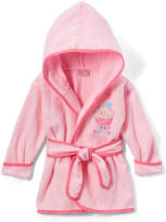 Sweet & Soft Light Pink Cupcake Terry Cloth Robe - Infant
