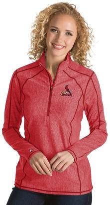 Antigua Women's St. Louis Cardinals Tempo Pullover