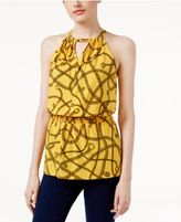 MICHAEL Michael Kors Printed Halter Top, a Macy's Exclusive Style