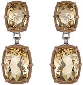 ATELIER SWAROVSKI - Jewel-y Drop Earrings - Light Colorado Topaz