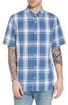 Vans Mayfield Short Sleeve Plaid Shirt
