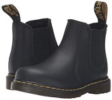 Dr. Martens Kid's Collection 2976 Toddler Shenzi Chelsea Boot (Toddler) (Black) Kids Shoes