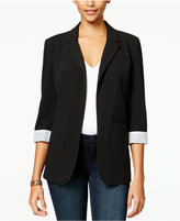 Amy Byer Juniors' Open-Front Blazer