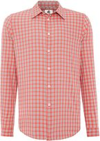 Paul Smith Men's Tailored long sleeve check shirt