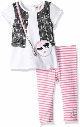 Juicy Couture Girls' 2 Pieces Legging Set Pants