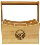 NHL Buffalo Sabres Bamboo Utensil Caddy