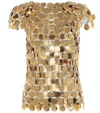 Paco Rabanne Embellished top