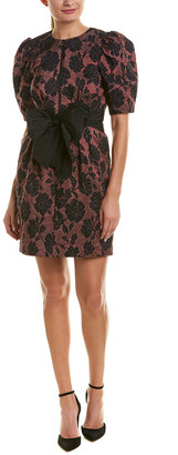 Rebecca Taylor Brocade A-Line Dress