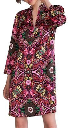 Trina Turk Christie Tapestry Print Dress