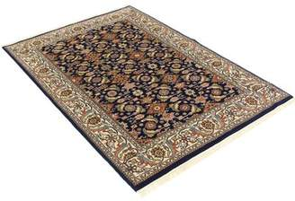 """Schiff Canora Grey One-of-a-Kind Oriental Hand-Knotted 4'7"""" x 6'8"""" Wool Brown Area Rug Canora Grey"""