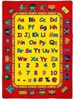 PRO RUGS ABCD FUN KIDS EDUCATIONAL NON SLIP AREA RUG (5 Feet X 7 Feet)