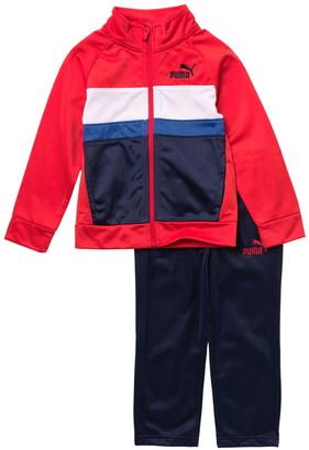 Puma Tricot Track Jacket & Tapered Pants 2-Piece Set
