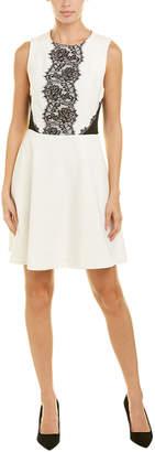 Rachel Roy Double Weave A-Line Dress