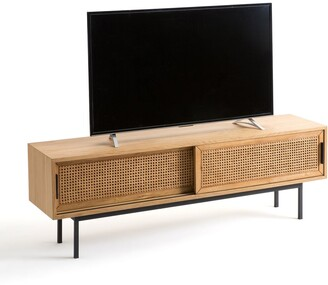 La Redoute Interieurs Waska TV Stand in Oak and Cane
