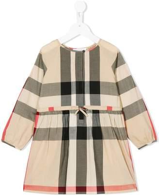Burberry Kids checkered dress