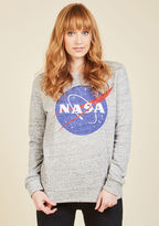 ModCloth Mission Possible Sweatshirt in S