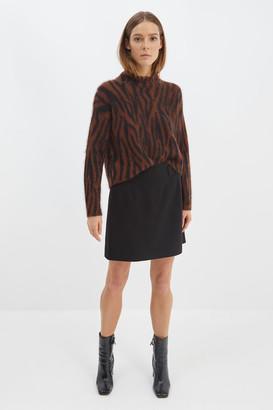 SABA Minnie Mohair Long Sleeve Crop Knit