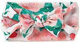 Starting Out Baby Girls Watercolor Floral Knotted Headband