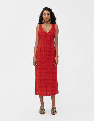 Rachel Comey Prim Dress in Brick