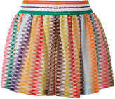 Missoni zig zag pleated shorts - women - Rayon - 42