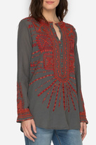 Johnny Was Allyna Embroidered Tunic