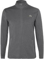 Lacoste Tennis - Novak Djokovic Mélange Jersey Zip-up Jacket