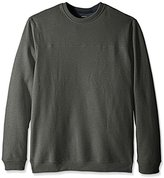 Arrow Men's Big and Tall Long Sleeve Sueded Fleece Crew