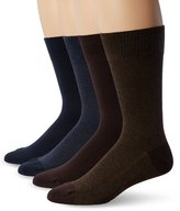Levi's Men's 4 Pack 168 Series Solid Crew Socks