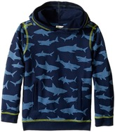Hatley Patterned Shark Pullover Hoodie Boy's Sweatshirt