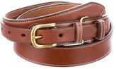 Michael Bastian Smooth Leather Belt